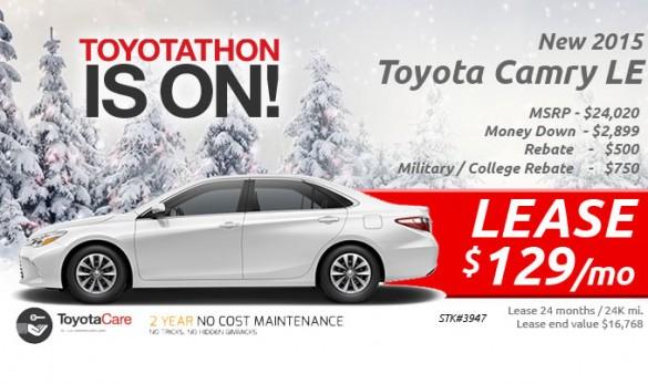 Toyota banner ad