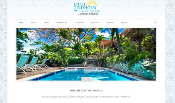 Estate lindholm web site